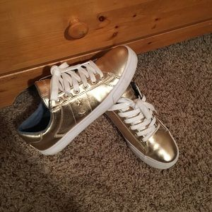 Metallic Tommy Hilfiger sneakers